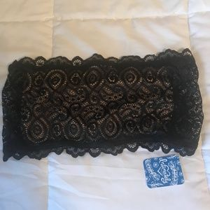 Black Lace Bandeau